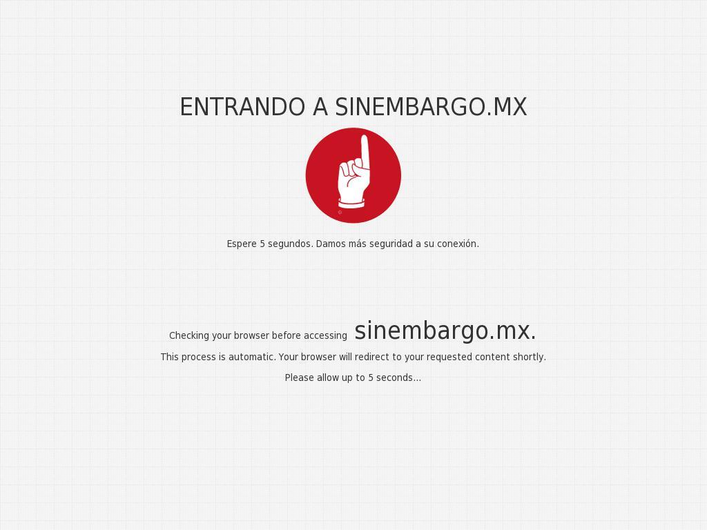 Sin Embargo at Friday Jan. 5, 2018, 7:22 p.m. UTC