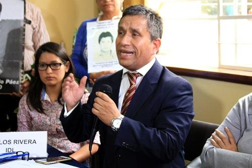 """El abogado Carlos Rivera calificó de """"trucho"""" el pedido de perdón de Alberto Fujimori. Fotografía: Meylinn Castro / Servindi."""